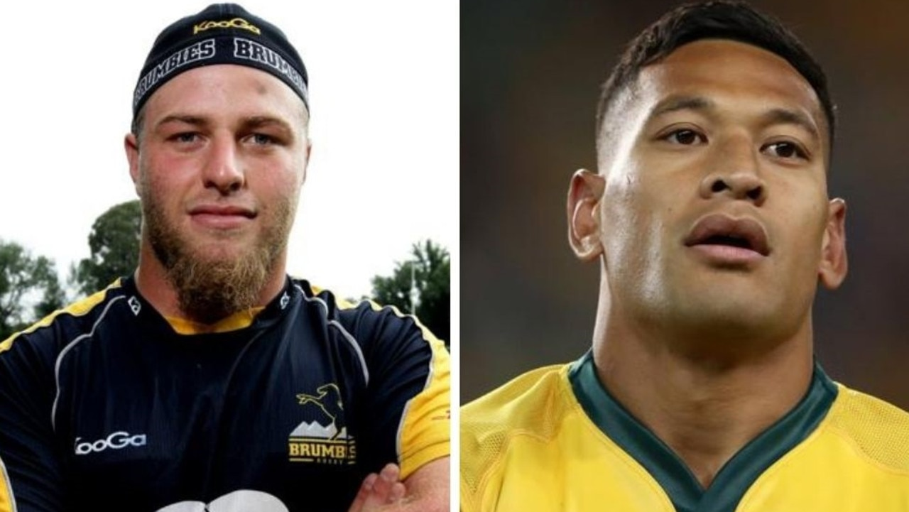Ex-Wallabies star Dan Palmer has made troubling revelations about struggling with his sexuality, slamming Israel Folau in the process.