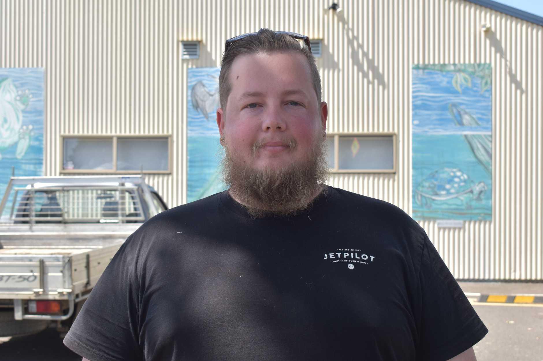 Gundiah voter Troy Macfarlane