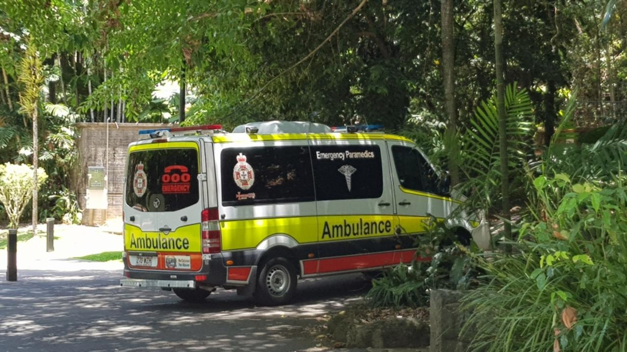 A rescue mission is underway after a man in his 20s was bitten by a snake while climbing Mt Whitfield. Picture: Nick Dalton