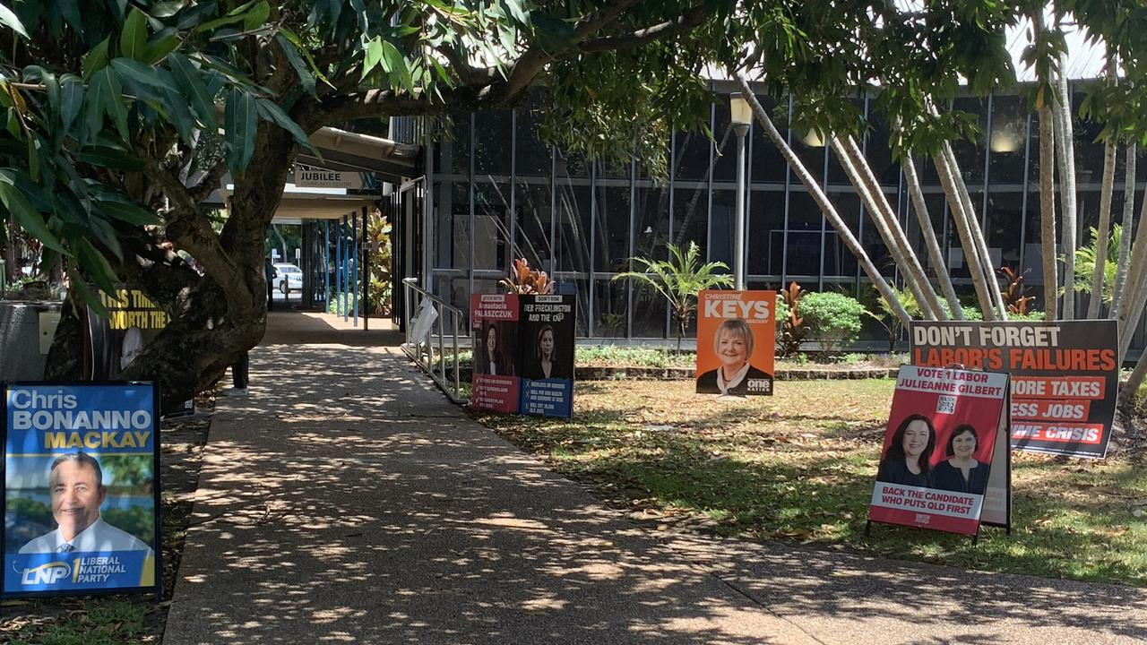 Jubilee Community Centre in Mackay for State Election 2020. Picture: Melanie Whiting