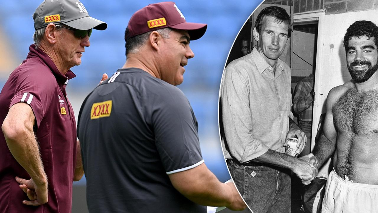 Queensland icons have pushed aside any alleged bad blood in the hope of bringing down NSW.