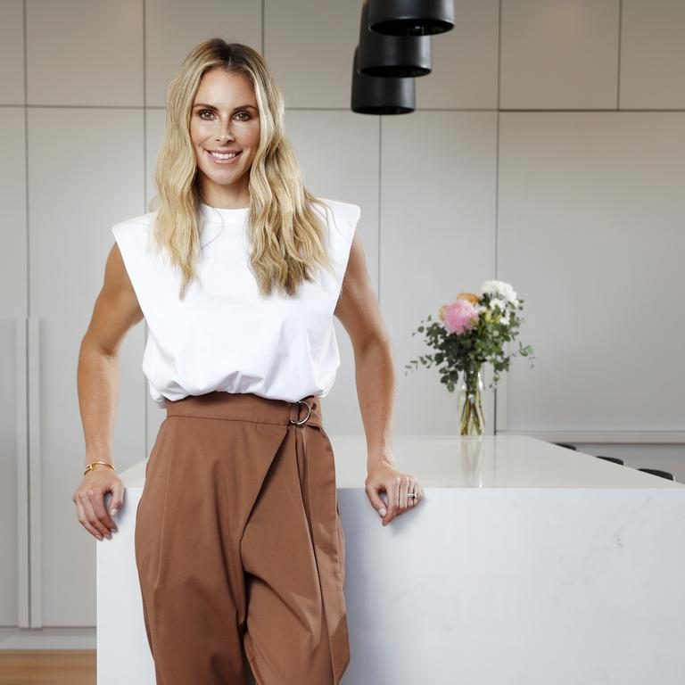 Candice says the kitchen is her favourite room in the house.