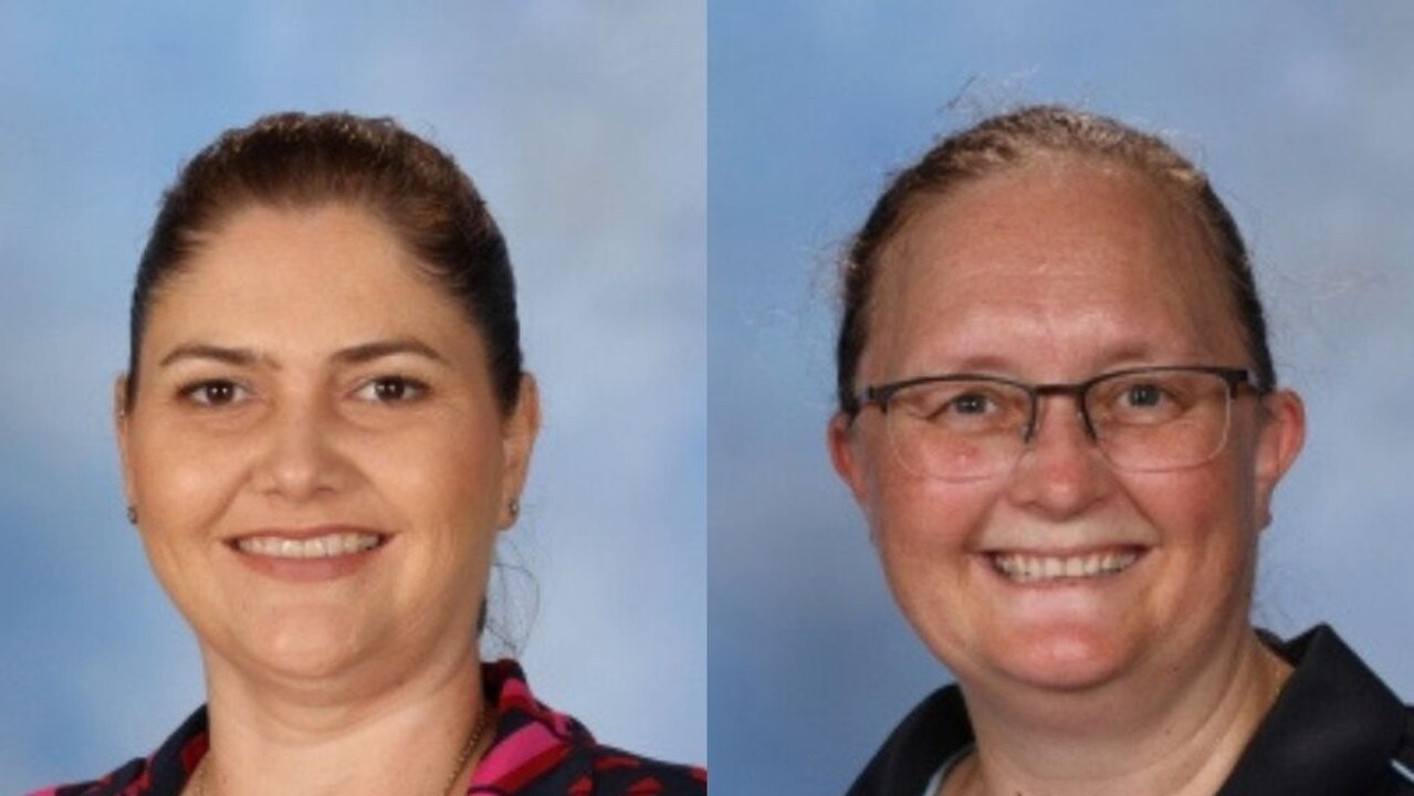 AWARD FINALISTS: (L) Teacher Peita Bates and Maryborough State High School Head of Department: Student Performance Cecilia Kovacic. Photos: Contributed