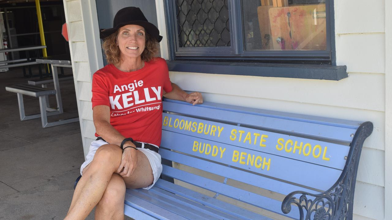 Labor candidate for Whitsunday Angie Kelly said she was