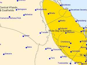 'CLASSIC SUPERCELL': Storm warning for parts of Wide Bay