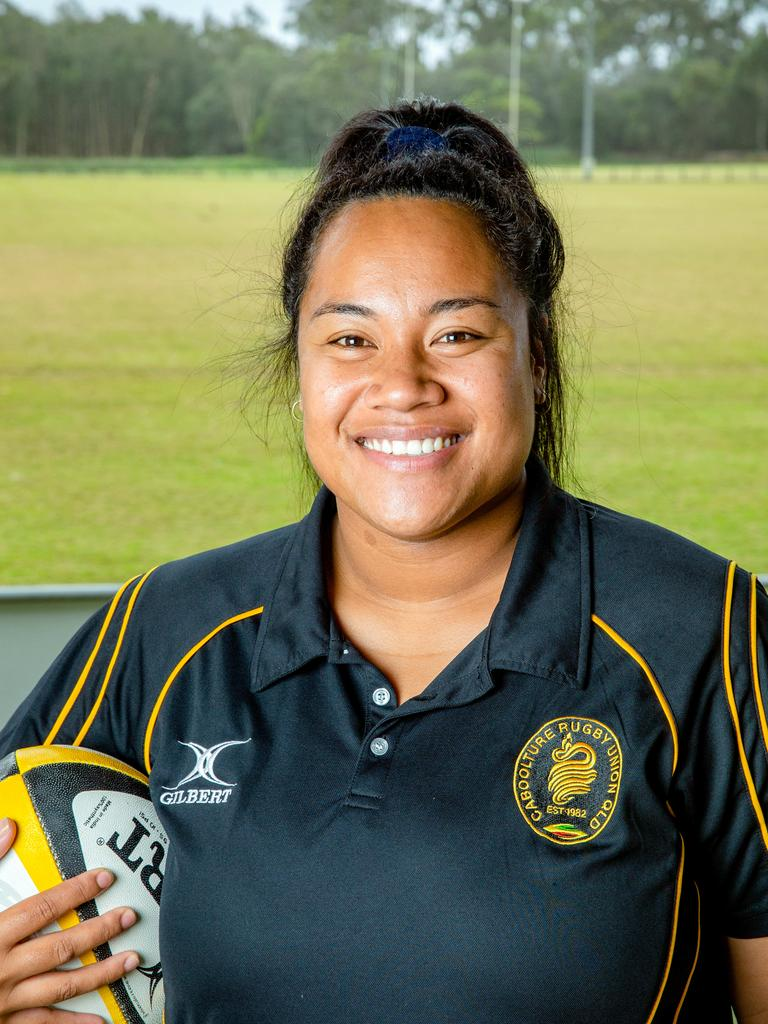 Caboolture Snakes Rugby Union player Sia Faalogo.