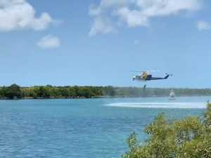 WATCH: RACQ CQ Rescue, Volunteer Marine Rescue demonstration in Mackay