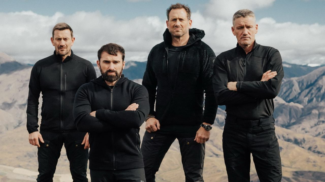 SAS Australia DS – Ollie Ollerton, Ant Middleton, Jason 'Foxy' Fox, Mark 'Billy' Billingham.