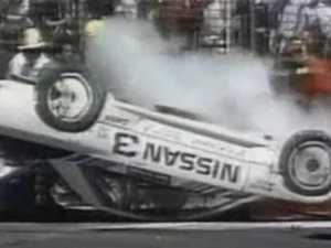 Skaife's moment of fear: 'The car was about to light up'