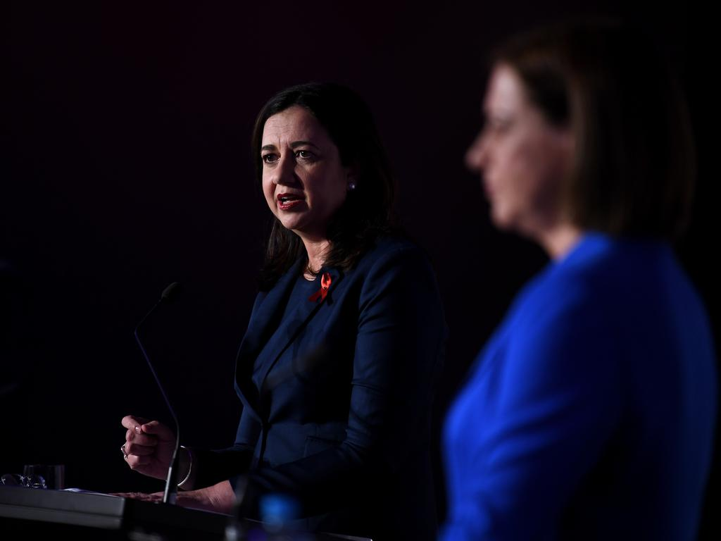 If punters have it right, Annastacia Palaszczuk may have to settle for a Labor minority government. Picture: NCA NewsWire / Dan Peled