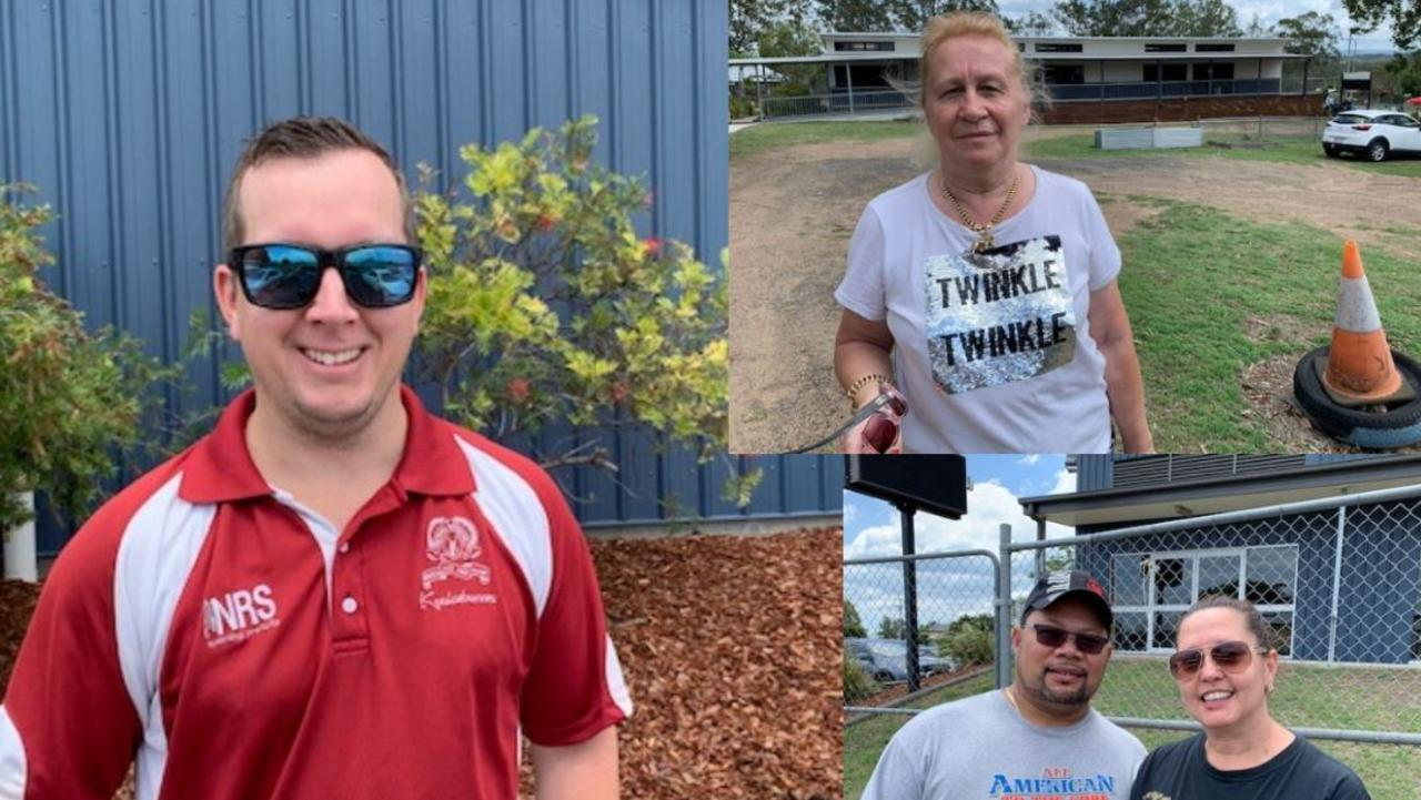 Ipswich voters have their say on the issues that mattered most to them on election day.