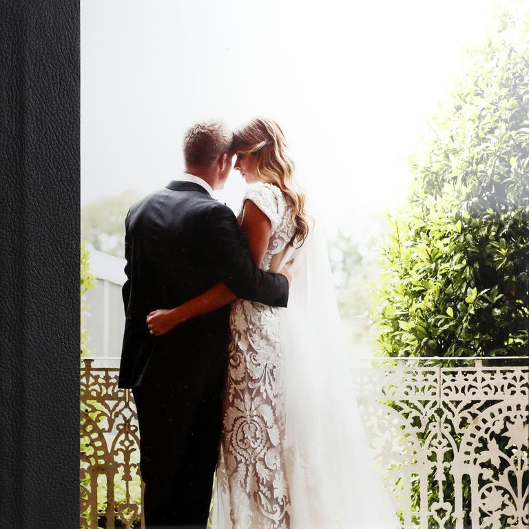 Candice and David's wedding album.
