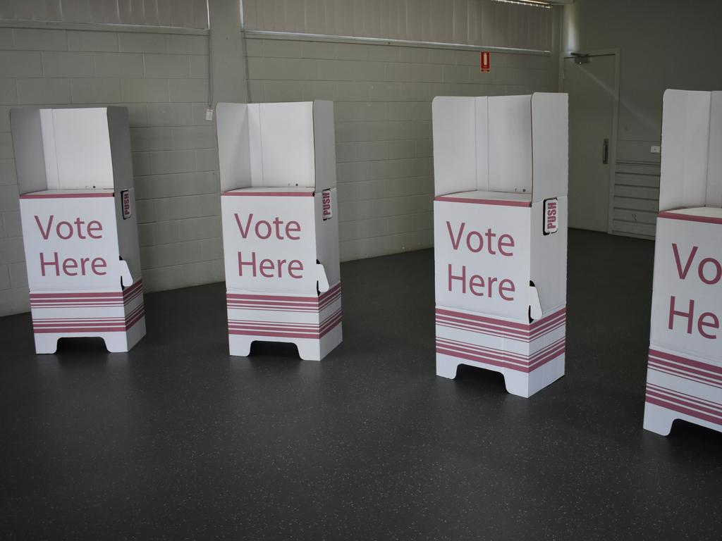 state election generic voting booth