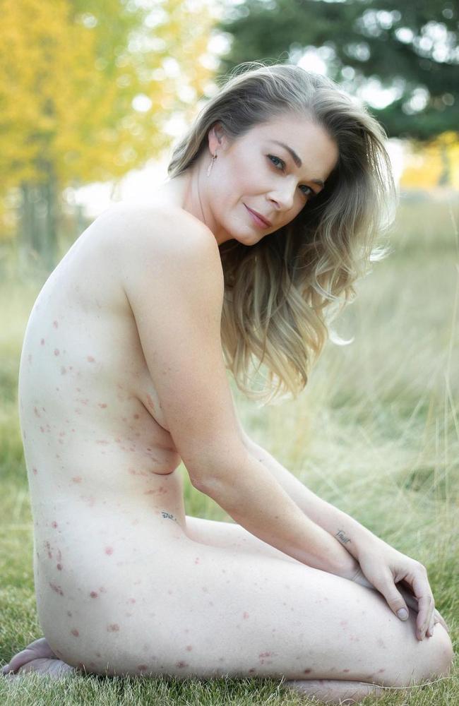 LeAnn Rimes' powerful nude photo.