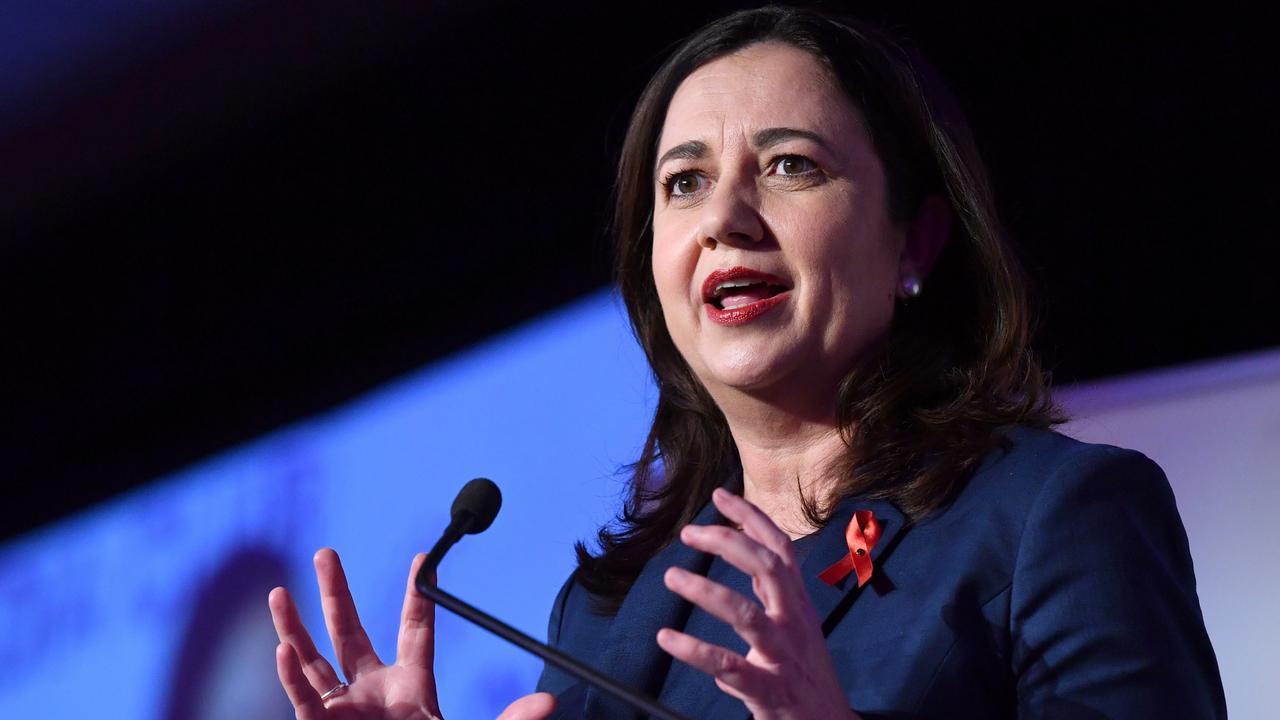 Queensland Premier Annastacia Palaszczuk. (AAP Image/Darren England) NO ARCHIVING