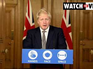 Boris Johnson announces new four-week virus lockdown in England