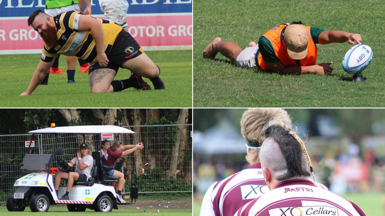 The Sunshine Coast Rugby Union season ended in entertaining fashion. Picture: Tom Threadingham