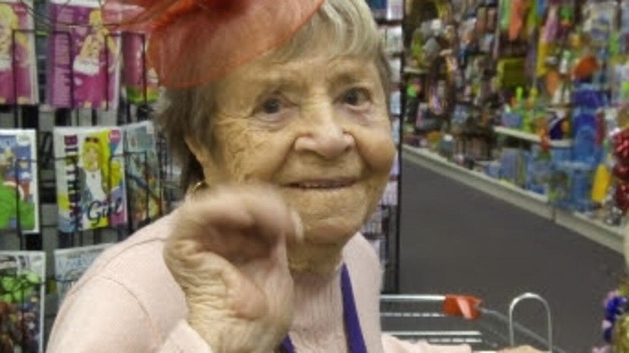 Wilhelmina (Ida) Bain Deacon is about to celebrate her 100th birthday. Picture: David Bennett
