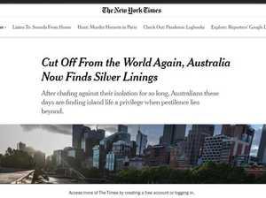 'Hermit nation': World's disbelief at Aus