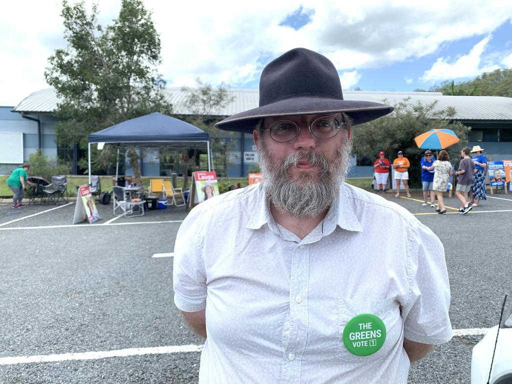 Greens candidate for Rockhampton Mick Jones