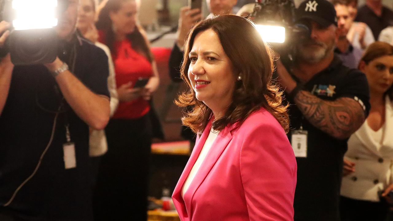 Premier Annastacia Palaszczuk has revealed her full cabinet, with new ministries announced including a new Minister for Hydrogen and a Minister for Water.