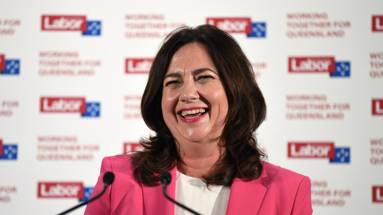 Mr Williams says the primary vote jump shows people were happy with how Premier Annastacia Palaszczuk handled the border closures. Picture: NCA NewsWire / Dan Peled