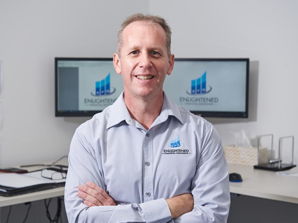 Enlightened Financial Solutions Mackay CEO/Founder James Wortly Picture: Jim Cullen Photography