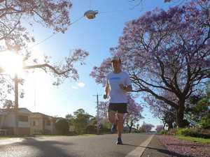 Marathon man visits Grafton on 1000km mental health journey