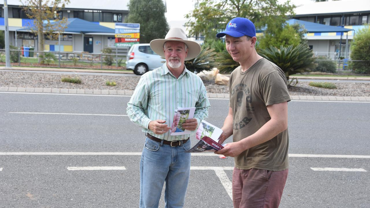 Mr Burling said his downfall was his late nomination as an independent after encountering issues with nominating with the Katter Australia Party.