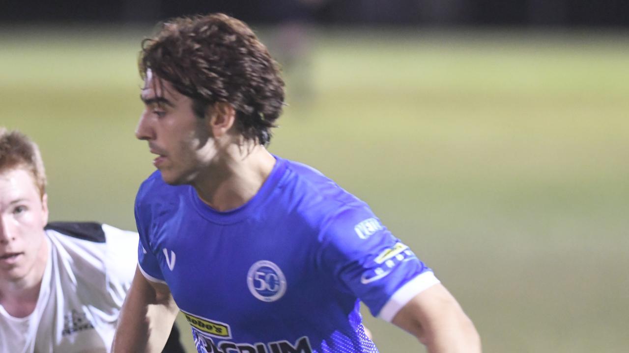 FOOTBALL CQ Premier League Div prelim final: Bluebirds United's Yianni Kondilis