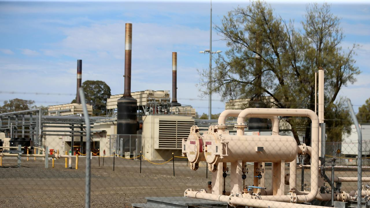 Santos Narrabri Gas project. Santos gas powered electricity plant. Pic Nathan Edwards.