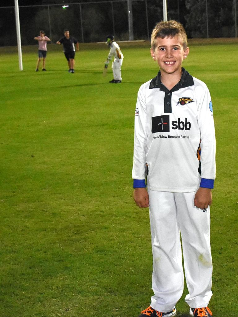 Marburg Mt Crosby junior cricketer Tyler Johnson is maintaining a wonderful family tradition. Picture: Gary Reid