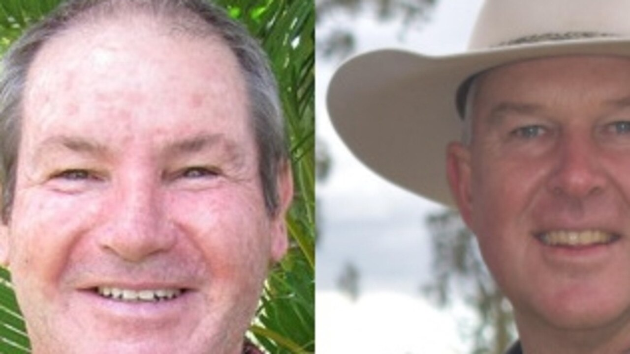 Geoff Williams and Tony Perrett state election
