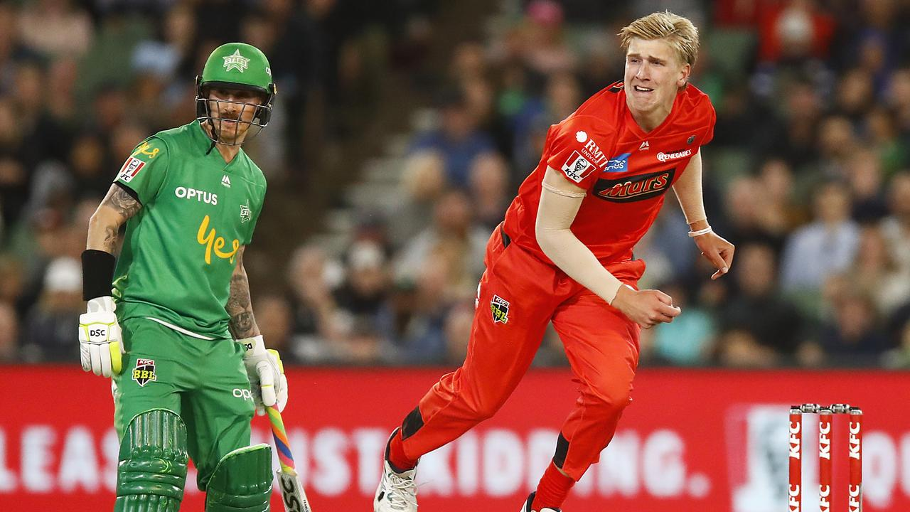Will Sutherland will be out to cement himself in Melbourne Renegades' team.