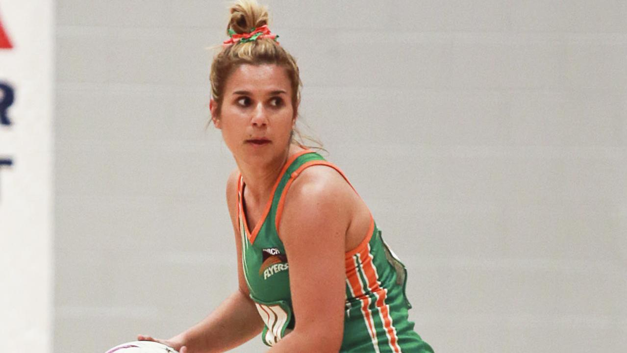 Ipswich Flyers netballer Abbey Gallagher has been offered a position with the Jets Rubies side.