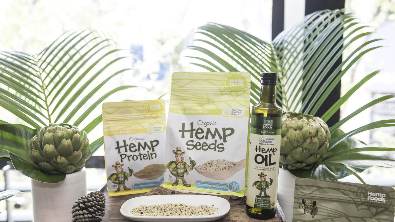 Hemp Foods Australia have unveiled a new 100 per cent Australian product.
