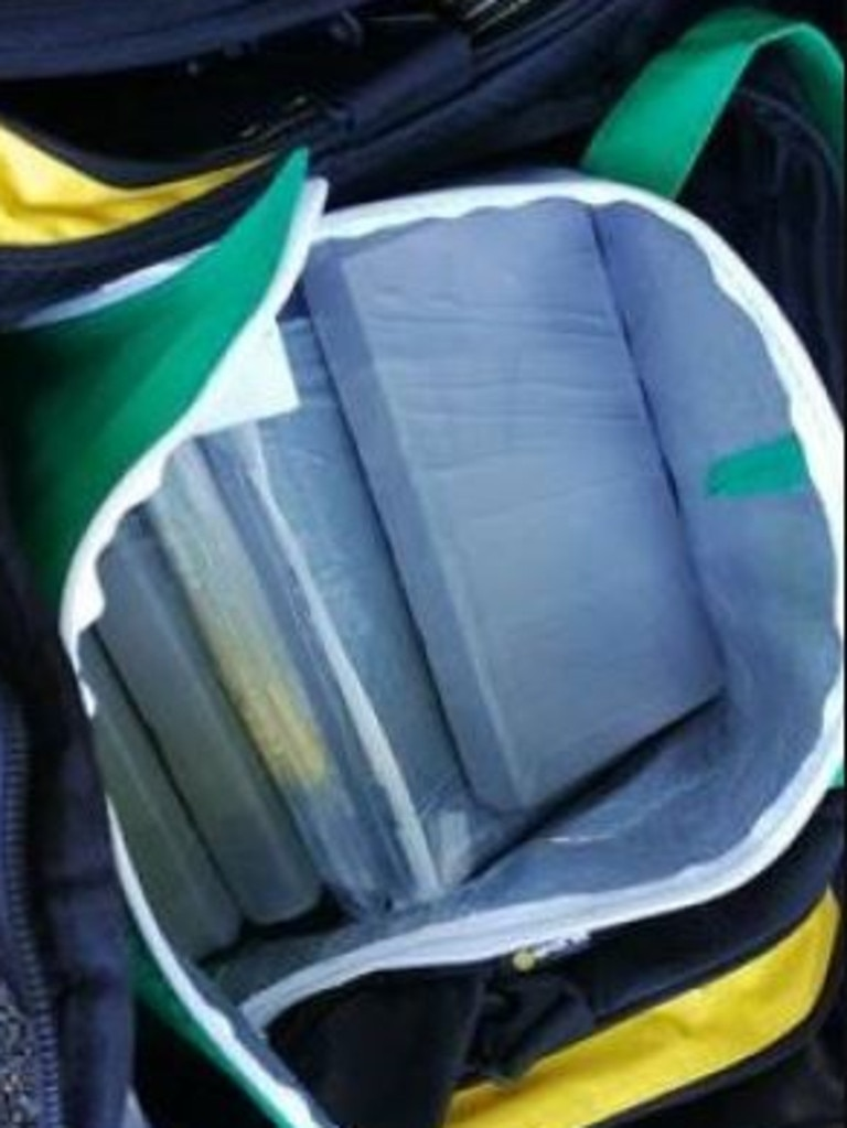 Police have seized 8kg of cocaine at the Queensland border.