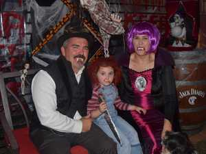 PHOTOS: Spooky costumes and haunted mansions lit up Emerald