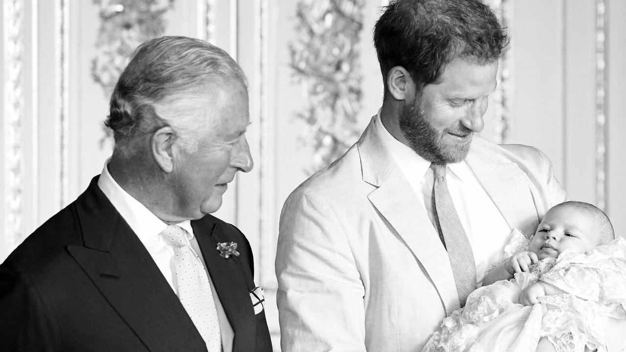Prince Charles has reportedly not seen Archie for more than a year. Picture: Twitter/@ClarenceHouse