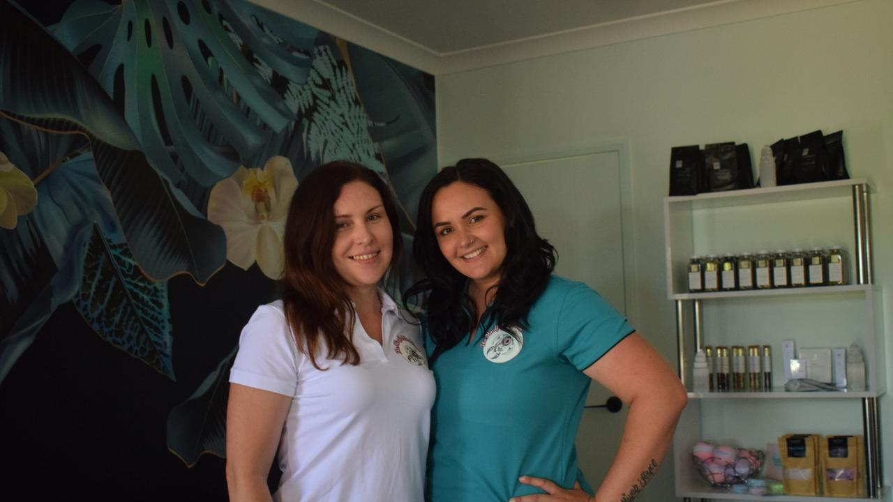 Ashley Katrina and Samantha King have collaborated together in a joint business, Mindful Soul Room and Sammy's Massage and Wellness Therapy.