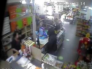 WATCH: Man allegedly robs North Rockhampton supermarket