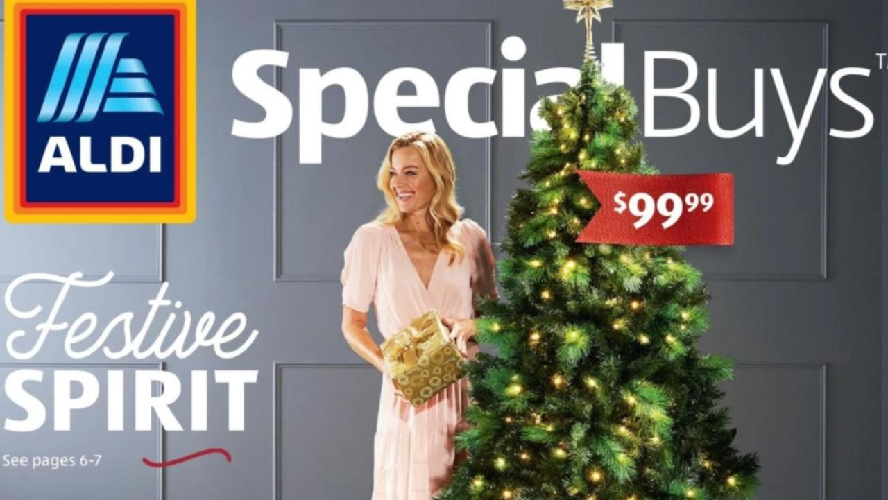 Aldi has said its popular $100 pre lit tree will not be in store, despite advertising saying it will drop on Wednesday.