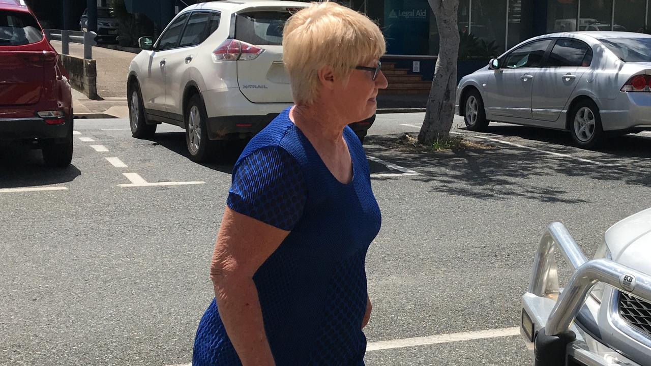 Elizabeth Anne Turner, mother of Mackay business-turned-fugitive Markis Scott Turner pleads not guilty to charges of attempting to pervert the course of justice and giving false testimony in the supreme court. Photo: Janessa Ekert