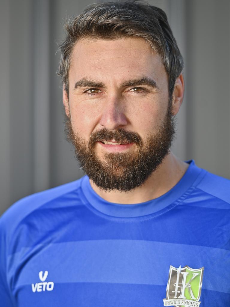 Ipswich Knights goalkeeper Zayne Freiberg. Picture: Cordell Richardson