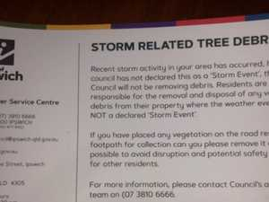 That's not a storm: Council admits error in debris mailout