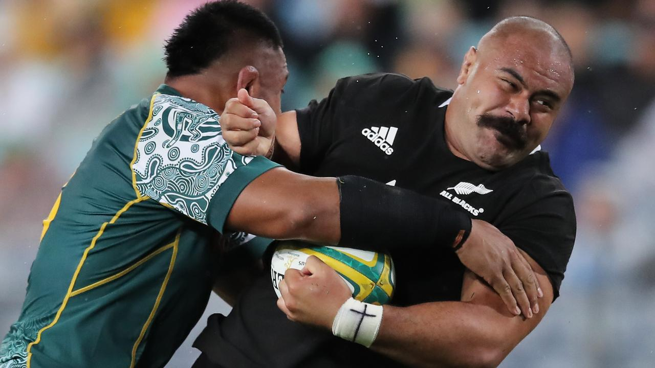 Competition on the rugby field is always fierce between New Zealand and Australia, with the two nations often known as having a love-hate relationship with each other. Photo by Matt King/Getty Images)