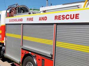 Multiple fire crews battling inferno near Hay Point