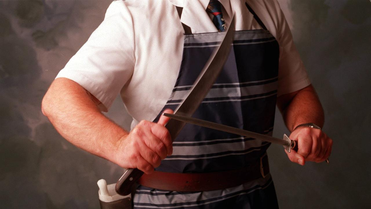Impress friends with your new knife-sharpening skills.