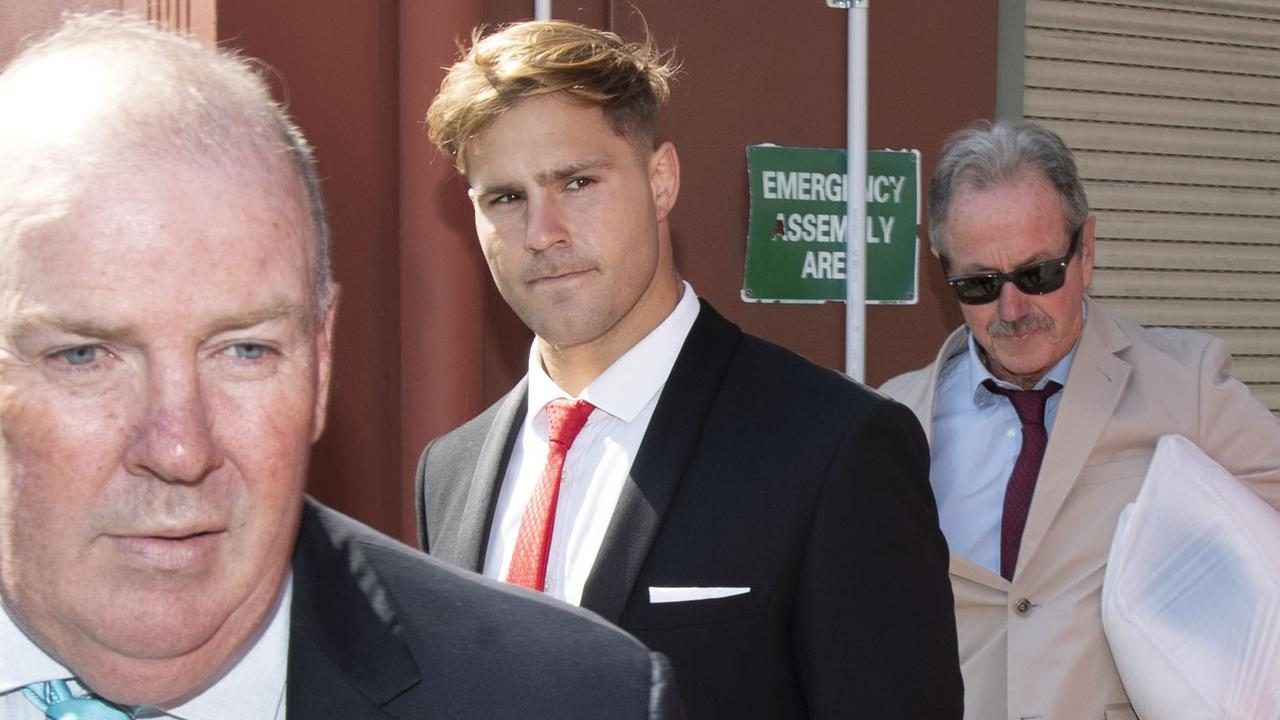 Jack de Belin stands accused of sexually assaulting a woman on a night out in Wollongong in 2018. Picture: NCA NewsWire / Simon Bullard