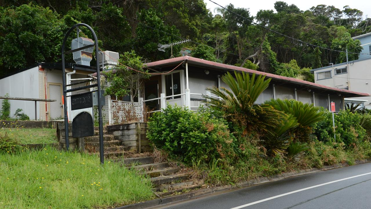 23 Compton Dr, East Ballina. Originally erected in the 1960s, the building was home to the Shaws Bay Cafe and later on to the Sandbar Restaurant. Picture: Liana Boss